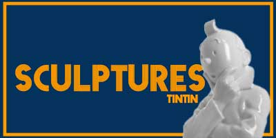 Nos sculptures Tintin