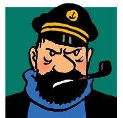 Capitaine Haddock personnage Tintin