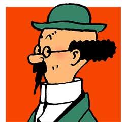Professeur Tournesol personnage Tintin