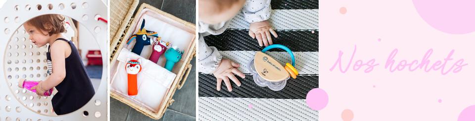 Nos hochets & jouets d'éveil à saisir pour bébé