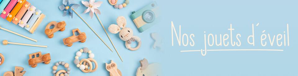 Nos jouets d'éveil et découvertes pour les enfants
