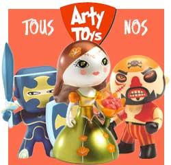 Figurines en plastique Arty Toys pour les enfants