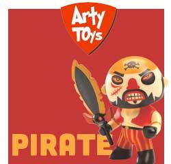 Figurine Pirate Arty Toys pour les enfants