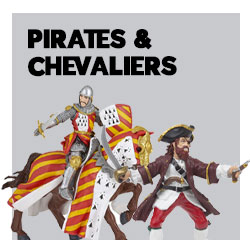 Figurines Pirates & chevaliers