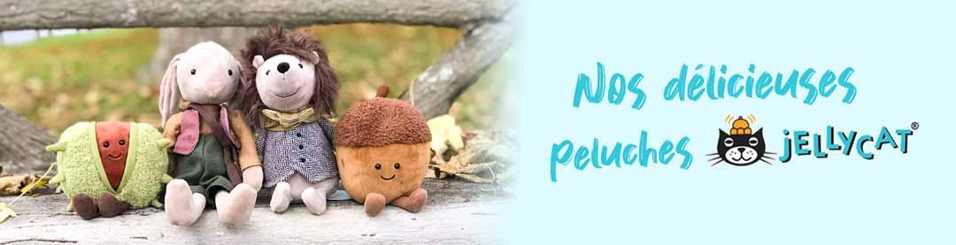 Nos peluches Jellycat pour les enfants