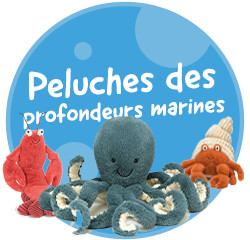 Nos peluches animaux marins Jellycat
