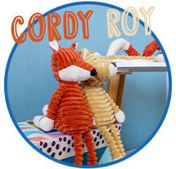 Nos peluches Jellycat de la collectionCordy Roy