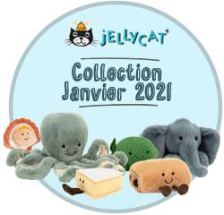 Nos peluches Jellycat de la collection janvier 2021