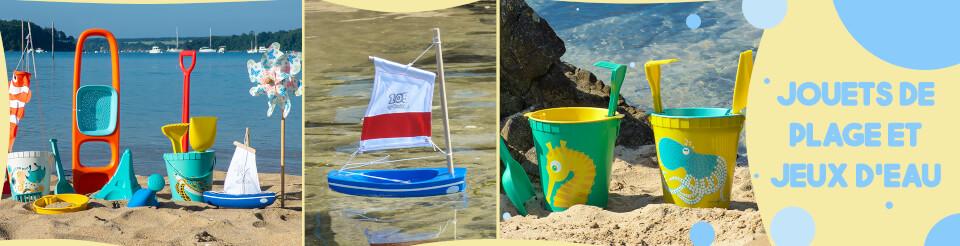 Nos jeux et jouets pour la plage et s'amuser dans l'eau