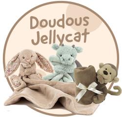 Doudou de la marque Jellycat