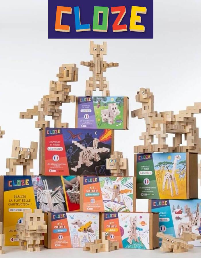Cloze jeux de construction